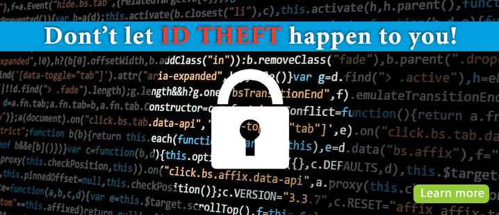 ID Theft Learn More
