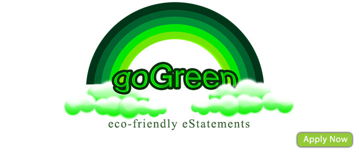 Go Green Go eStatement