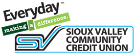 Sioux Valley Community Logo CU